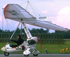 Quasar Solar Wings Pegasus Microlight Airplane Kiln Wood Model Replica Large New