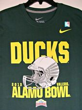 2013 Oregon Ducks Alamo Bowl Football Champions Nike T Shirt Sz L Large NCAA 🔖