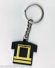 Feuerwehrmann Schlüsselanhänger Feuerwehr Einsatzjacke Einsatz-Shirt NEU