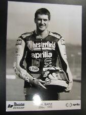 Chesterfield Aprilia Racing Team 250cc 1995 #8 Jean-Michel Bayle (F)