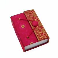 Sari Mini Journal Notebooks Fair Trade, Eco Friendly