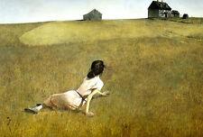Andrew Wyeth 11x14 Print CHRISTINA'S WORLD 1948 American Realist Art Poster