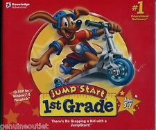 JUMPSTART 1ST GRADE Ages 5-7 for PC & MAC SEALED NEW