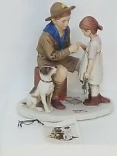 The Young Doctor - Dave Grossman 1977 Figurine Norman Rockwell Collectible Lnib
