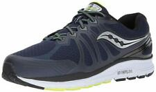 Saucony Men's Echelon 6 Running Shoe, Navy/Citron, 9 D US
