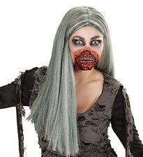 Zombie BOCCA Accessorio Vestito FX Halloween INSANGUINATA elastico e latex