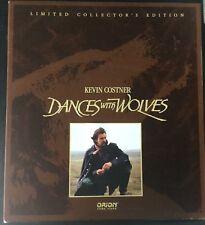 DANCES with WOLVES-2 LASERDISCS & CD DELUXE BOX SET-RARE-UNBEATABLE PRICES