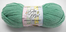 Baby Bee Sweet Delight Light Weight Yarn - Color Green/Pooltime - 1 Skein