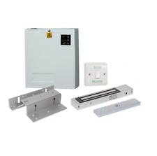 Full Complete Metal Access Control Kit Set Electric Magnetic Door Lock KIT 1