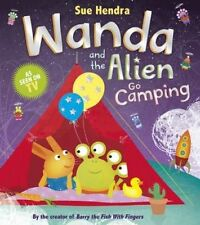 Wanda and the Alien Go Camping-ExLibrary