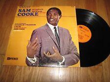 SAM COOKE ALSO STARRING CHARLIE FRANCIS - PREMIER RECORDS LP