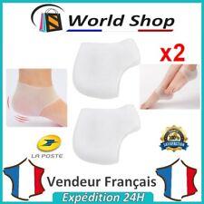 Protection silicone Talon x2 éperon calcanéen gel bandage fissure épine