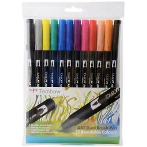 Tombow Dual Brushpens Wallet 12 Primary