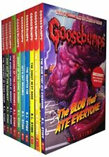R.L. Stine Goosebumps Horrorland Series Collection 10 Books Set Classic Covers