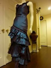 FANTASY AVANT GARDE PLEATED STEAMPUNK PROM GOWN-GREAT THEATRICAL / DANCE COSTUME