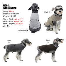 Pet Dog Cat Clothes Coats Woolen Hoodie Pup Cat Fur Jumper Warm Jacket Clothing