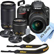 Nikon D3500 DSLR Camera Kit with 18-55mm VR + 70-300mm Zoom Lenses | 24.2 MP