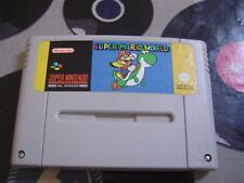 SNES Super Mario World (game only) PAL