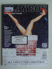 US Playboy Mens Magazine *December 2013 *Gala Christmas Holiday Issue