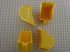 Lego Technic Digger Bucket 4 x 7 p/n 24120  x  4  ** NEW ** 6145856 42055