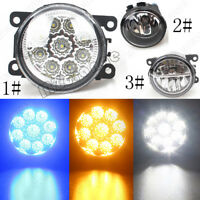 LH+RH LED Front Fog Light Lamps For Renault Ford Transit Jaguar Citroën Vauxhall