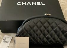Chanel kisslock Limited Edition Pewter Pinstripe Patent Clutch