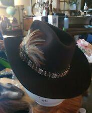 Trail Boss Cowboy Hat Size Medium 100% wool
