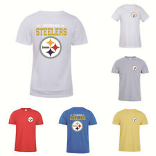 Pittsburgh Steelers Football T-Shirt Summer Short Sleeve Casual Cotton Tee Shirt