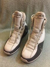 save off 18e6b b9c47 RARE Vintage Air Jordan Roy Jones Jr RJJ Boxing Shoe Sneaker White Gray Sz  9.5