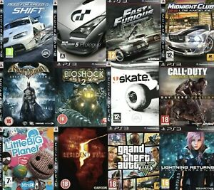 PlayStation 3 Games (PS3) Choose One Game Or Bundle Up Same Day Dispatch