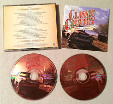 CLASSIC COUNTRY 1966 - 1969 ( TIME LIFE TL 626/18 ) RARE - DOUBLE CD COMME NEUF