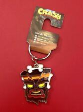 PlayStation Psx Crash Bandicoot N.Sane Trilogy Uka Uka Mask Keychain Keyring New