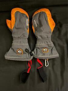 Hestra Army Leather Czone Alpine Pro Mitten Ski Snow Glove Sz 10 Goat Leather