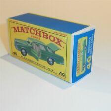 Matchbox Lesney 46 c Mercedes Benz 300 SE empty Repro E style Box
