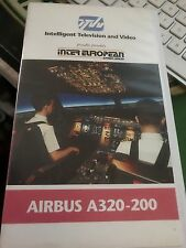 More details for inter european airlines airbus a320-200 vhs cockpit
