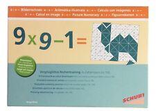 Schubi Lernmedien Bilderrechnen Rechentraining bis 100, Magnetspiel