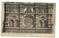 NOTRE DAME Cathedral Church Paris France  Postcard