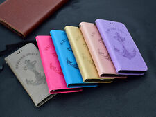 For LG Stylus 2 3 Pixel 2 V40 K10 PU Leahter Flip Wallet Stand Phone Case Cover