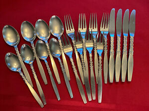 Lyons International Stainless Flatware ALHAMBRA Forks, Spoons, Knifes 20 Piece