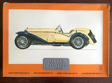 Vintage Pocher 1/8 Alfa Romeo Spider Touring 1932 K-73 Model Car Kit Boys 12-80