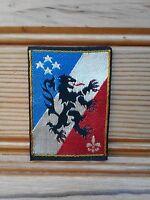 ecusson patch insigne militaire broderie tissu 3e corps d'armée bleu blanc rouge