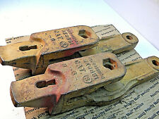 Caterpillar Blade Adapter Teeth 5k6851 8 2 Count Tractor Digging Clearing