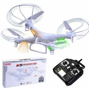 Syma X5 Explorers 360° 4CH RC Quadcopter Remote Control 6-Axis Gyro White