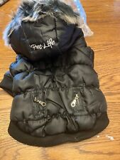 Pet Life Metallic Ski Parka Dog Jacket with Removable Hood - Size Small New ❤️
