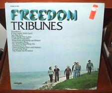FREEDOM TRIBUNES LP CHRISTIAN XIAN FOLK Tempo Records ORIGINAL STILL SEALED !!
