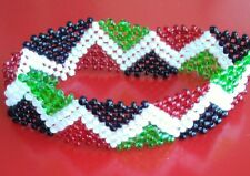 Bangle/Bracelet Jewelry - multicolored Handmade African Kenyan Beaded