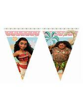 Disney MOANA Official Birthday PARTY RANGE (Kids/Girls - Tableware/Decorations)