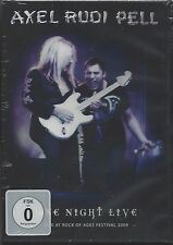 AXEL RUDI PELL / ONE NIGHT LIVE * NEW DVD 2010 * NEU