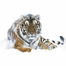 SIBERIAN TIGER POSTER 24x36 - NATURE SNOW WILDLIFE 3440