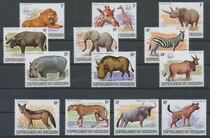 [P617] Burundi 1982 WWF the RARE set perfect MNH stamps value $1200